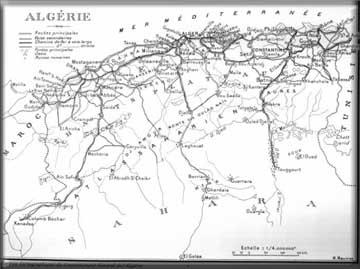 Situation et présentation de la région de el Cart2a